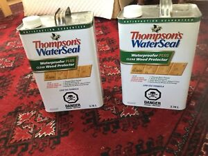 Thompson's waterSeal plus clear wood protector