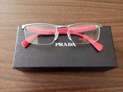 PRADA New EYEWEAR VPS52F DG1 -101 Case and cloth , lite wt. Frame