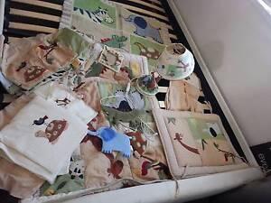 Cot bedding safari Coomera Gold Coast North Preview