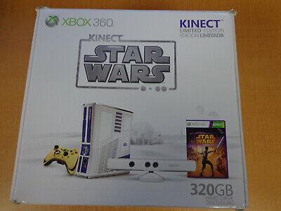 NEW! Kinect Star Wars Microsoft Xbox 360 Console Bundle 320GB FREE SHIPPING!