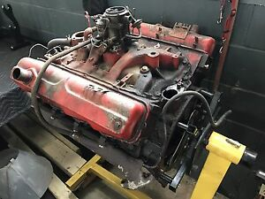 Dodge 318 wide block Poly