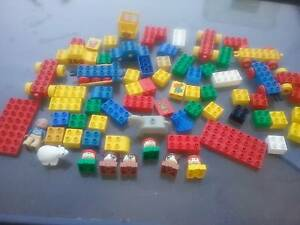 Lego duplo , mega bloks and more 220 + pieces Seacombe Gardens Marion Area Preview