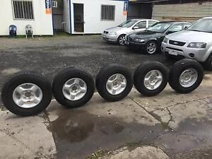 Nissan Navara D22 Tyres and Alloys Lalor Whittlesea Area Preview