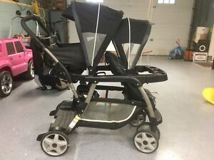 Double stroller - Excellent Condition.