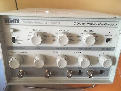 Thurlby Thandar Tgp110 10mhz Pulse Generator With Delay