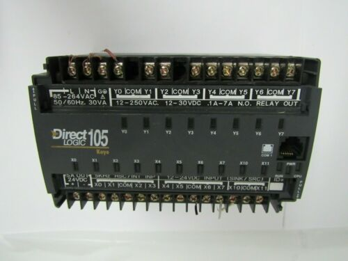 DIRECT LOGIC 105 F1-130DR PROGRAMMABLE CONTROLLER