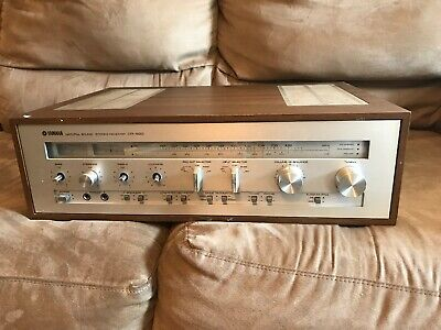 Vintage Yamaha CR-820 AM/FM Natural Sound Stereo Receiver *Tested*