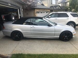 2003 BMW 330ci E46 Convertible - 101,000 kms ONLY!!