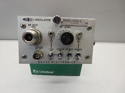 Kruse Electronics Model 5015-2 Oscillator 7 - 11 Ghz Unit Not Tested.