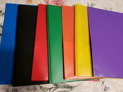 2-pocket Poly Folders With Fasteners. Set Of 8 Folders Mix And Match. Office Max