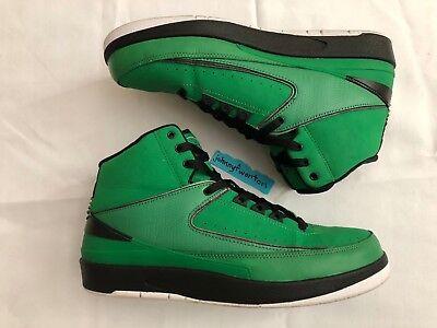 designer fashion 3bdfe e0852 Air Jordan 2 Retro QF Candy Pack Green ii size 10 395709-301 nike  doernbecher
