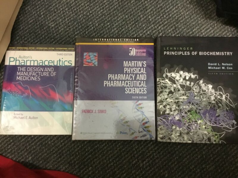 Sciences pharmaceutical martins physical book and pharmacy