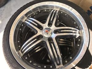 """4 x new 17"""" mags and tyres. 205 / 40 Loganholme Logan Area Preview"""