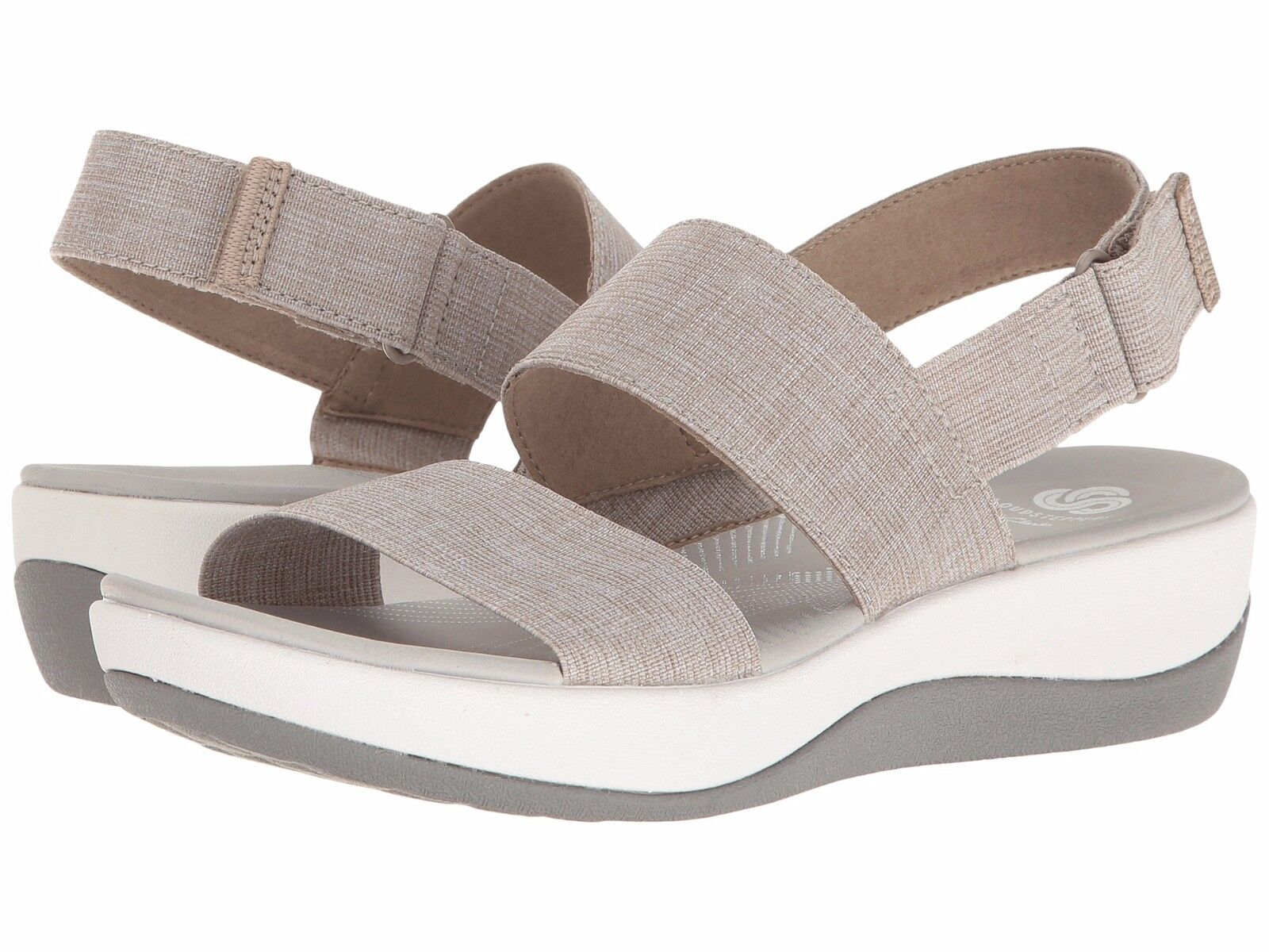 Women's Shoes Clarks Arla Jacory Casual Wedge Sandals 25965