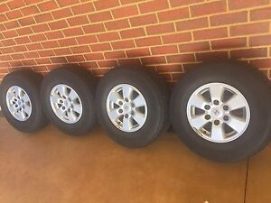 Toyota hilux rims Tyres Taylors Hill Melton Area Preview