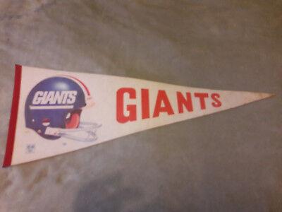 NFL Wimpel Helm New York Giants groß Full Size vintage