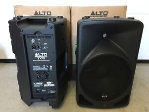 Haut-parleur amplifié  active speaker Alto tx15 (Neuf)