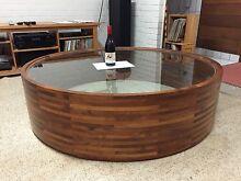 Coffee Table – laminated blackwood circular Pambula Beach Bega Valley Preview