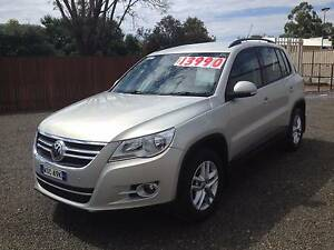 2009 Volkswagen Tiguan Wagon Turbo Diesel Tamworth Tamworth City Preview