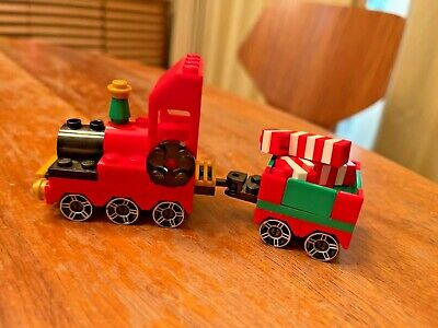 Lego Christmas Train 40034 RARE 100% complete except no instructions (1 substitu