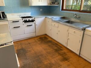 Authentic 1950s second hand kitchen