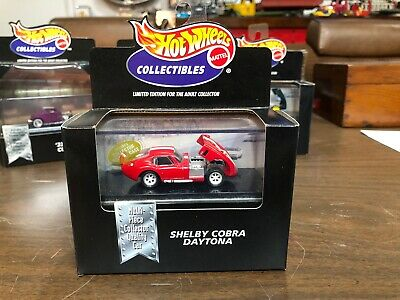Hot Wheels Collectables Ford Shelby Cobra Daytona Coupe 1:64 Diecast Red Lemans