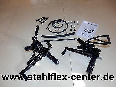 GSX R 1000 K3 K4 WVBZ ABM Fussrastenanlage Rasten GSXR1000 GSX-R foot peg