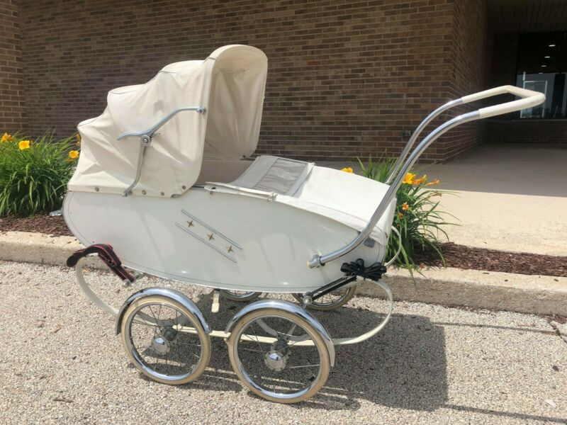 1960 Vintage Baby Stroller Buggy Carriage