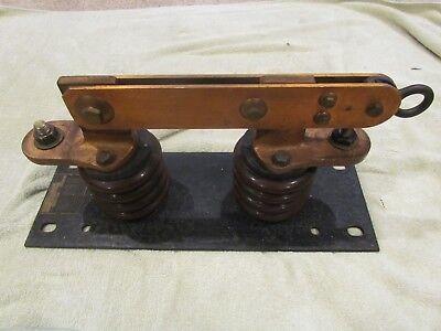 Vintage Antique Industrial Electric Knife Switch Frankenstein Monster 600a 7500v