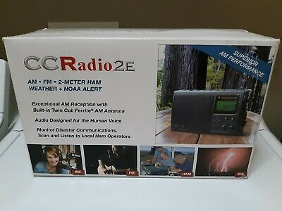 C. Crane-2e Enhanced Portable Am Fm Weather 2-meter Ham Band Radio..ships Free