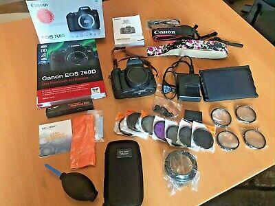 Canon EOS EOS 760D 24.2MP Digitalkamera + Zubehörpaket - Privat, fast ungenutzt!