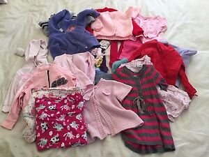 Girls size 1-2 winter clothes jumpers tops jumpsuits Dural Hornsby Area Preview