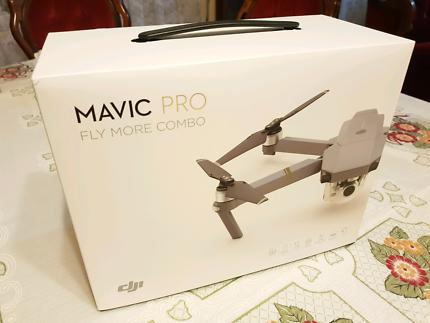 Brand New - DJI Mavic Pro - Fly More Combo with Receipts