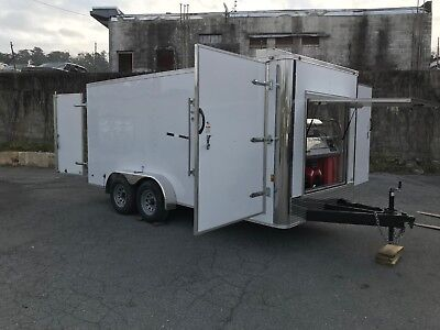 Hot Water Pressure Washer Enclosed Trailer Mounted-8gpm4000psi-honda Gx690