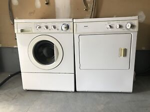 Can deliver FRigidare washer and dryer in great condition