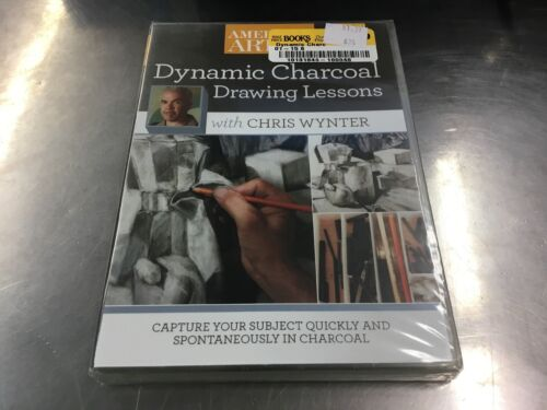 Dynamic Charcoal Drawing Lessons With Chris Wynter, New DVD