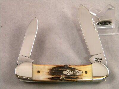 CASE XX 52131 SS CANOE KNIFE ~ 1995 - 5 DOT ~ STAG