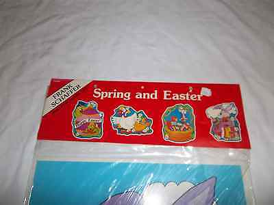 FRANK SHAFFER FS9403 SPRING & EASTER   BULLETIN BOARD AIDS - Easter Bulletin Board