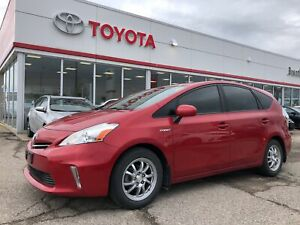 2014 Toyota Prius v Base, One Owner Local Trade, Only 93837 Km's