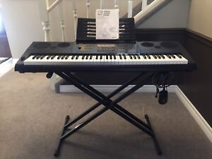 Casio WK-6600 Keyboard with Stand