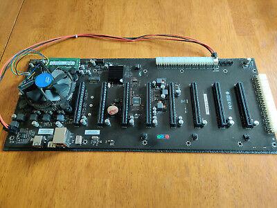 BIOSTAR TB250-BTC D+ RISERLESS MOTHERBOARD w/ INTEL G3930 CPU COMBO