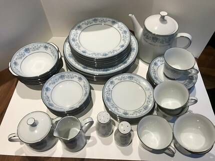 Vintage noritake china dinnerware gumtree australia banyule noritake fine china dinner set fandeluxe Images