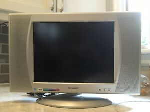 "Sharp 15"" TV"