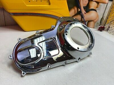 🔥Genuine 07-16 Harley Touring Low Profile Outer Primary Cover Chrome OEM🔥