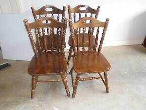 Pine chairs Tarrawanna Wollongong Area Preview