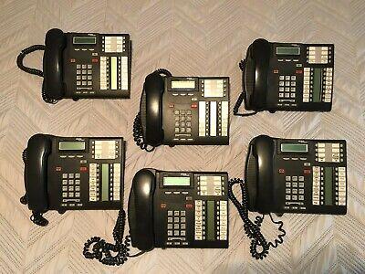 Lot of 50 Nortel Norstar T-Series T7316E M3901 M3902 Handset Black NEW