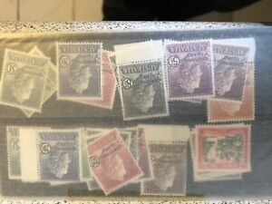 Christmas Island stamp collection