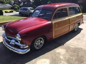 "1951 Ford squire station wagon ""woodie"""