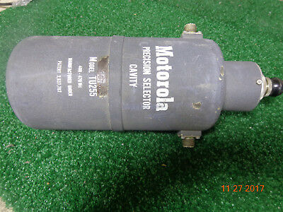 Motorola Uhf Duplexer Cavity Filter Radio Repeater Tu255 Vintage Great Find A21