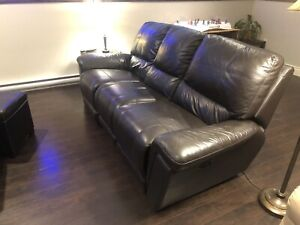 *Reduced* Leather Reclining Sofa